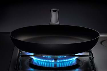Take care of your pans - correct heating